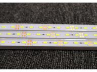 High Bright  DC 12V Hard Led Bar Lights Rigid Light Strips Warm White