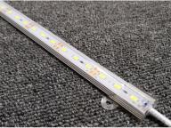High Bright  DC 12V Hard Led Bar Lights Rigid Light Strips Warm White