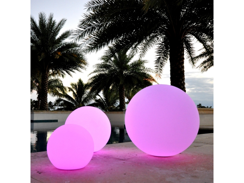 IP68 RGB color changing led global light to  decorate your swimming pool