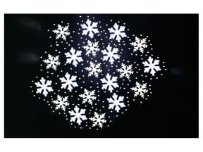 Outdoor snow laser garden projection Christmas lighting