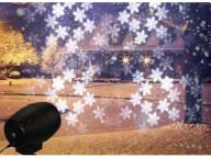 Outdoor snow laser garden projection Christmas lighting