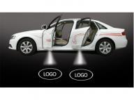 Wireless LED car door welcome projector logo light led car door light with car logo projector