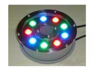 RGB LED Submersible Underwater Fountain Light for Pool Pond Aquarium