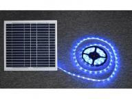 led strip light with solar battery powered RGB strip light