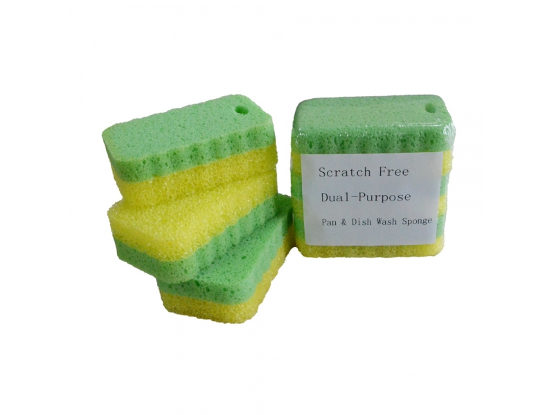 Pan&Dish Wash Sponge Dual Cleaning Sponge