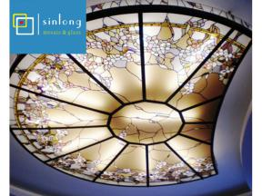 Islamic style glass dome tiffany glass dome for mosque decorative