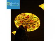 hot selling new design stained glass ceiling skylight dome