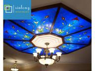 hot selling stained glass dome skylight design