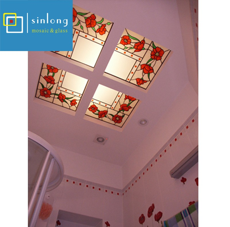 SL12-X939 low cost decorative art flat glass dome skylight roof price.jpg