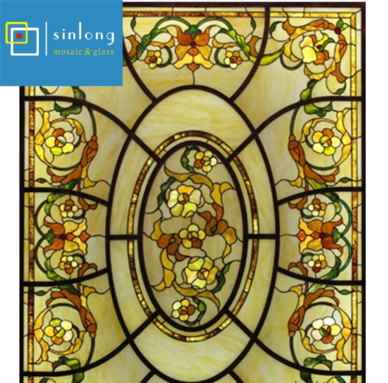 SL12-X941 new design decorative art glass dome skylight for construction.jpg