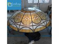 aluminium frame building glass dome skylight