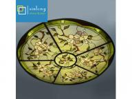 custom made decorative ceiling dome stained glass