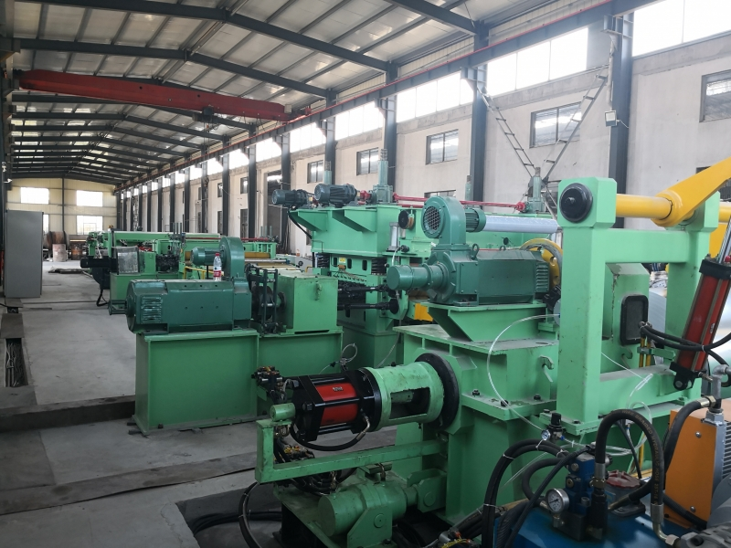 Top Quality Cut To Length Line Leveling Machine