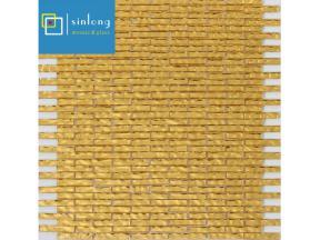 gold mosaic floor tile