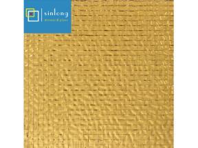 gold glass mosaic tiles