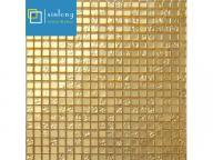 square imitation gold tile