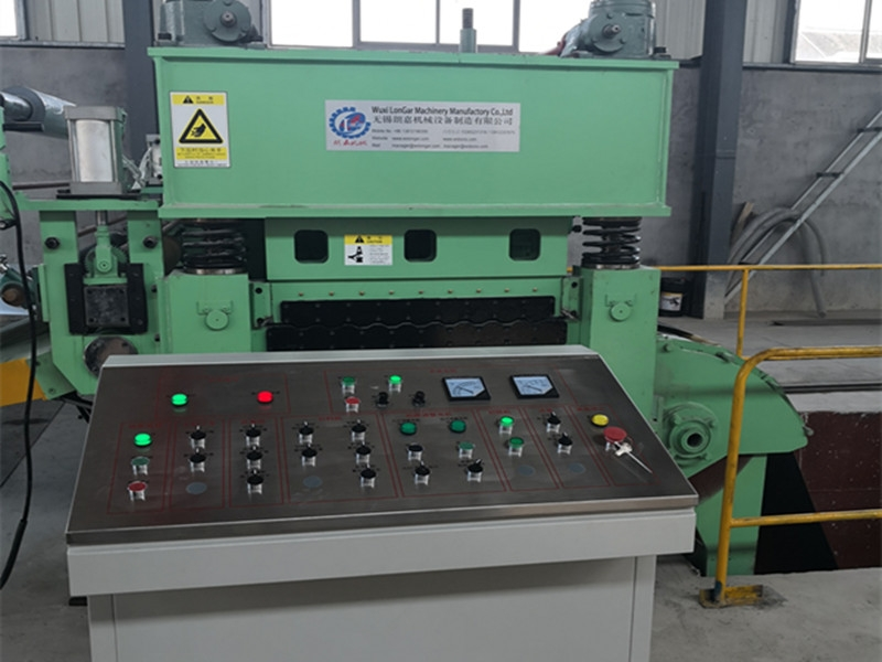 Flat Sheet Pinch and Leveling Machine CTL Line