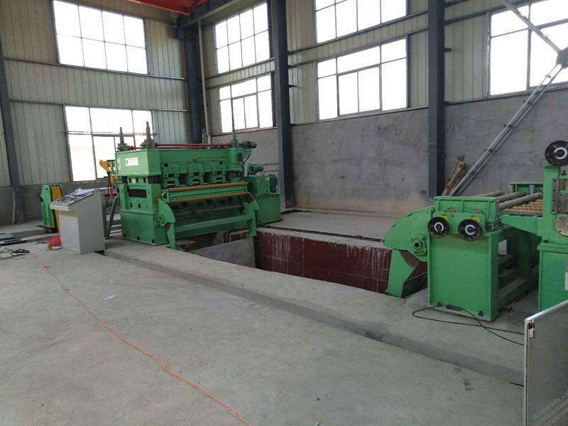 Cut to Length Machine for PPGI Material Ctl