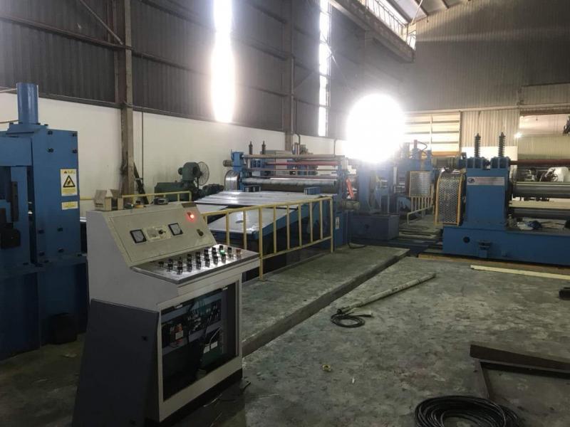 PPGI Steel Sheet Slitting Line