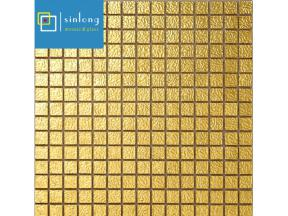 real gold mosaic tile