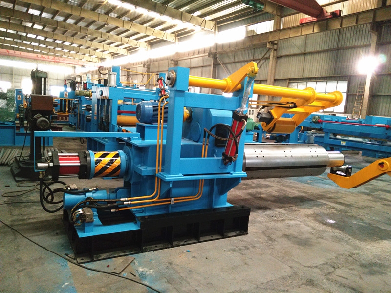 Stainless Steel HR Coil Cutting Machine