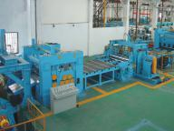 Heavy Structure Cut To Length Machine