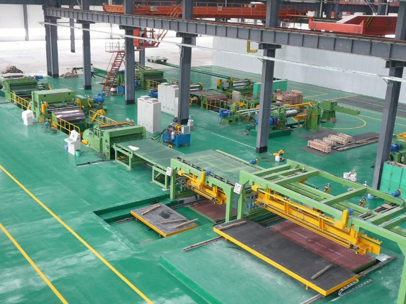 Wuxi Metal Steel Coil Sheet Cutting Machine