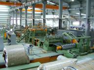 Combined Slitting And CTL Line