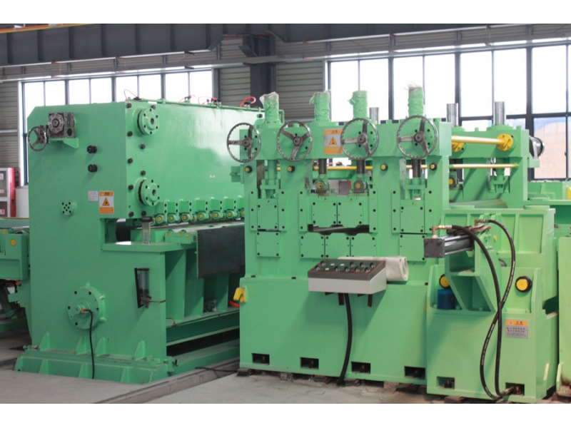 Combined Slitting And CTL Machine