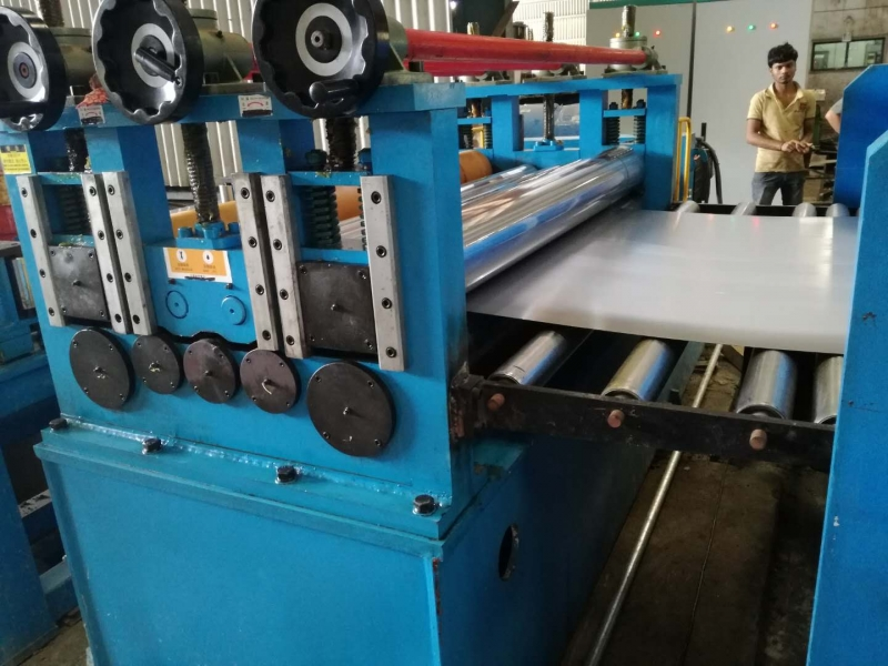 High Speed Rotary Shear Line