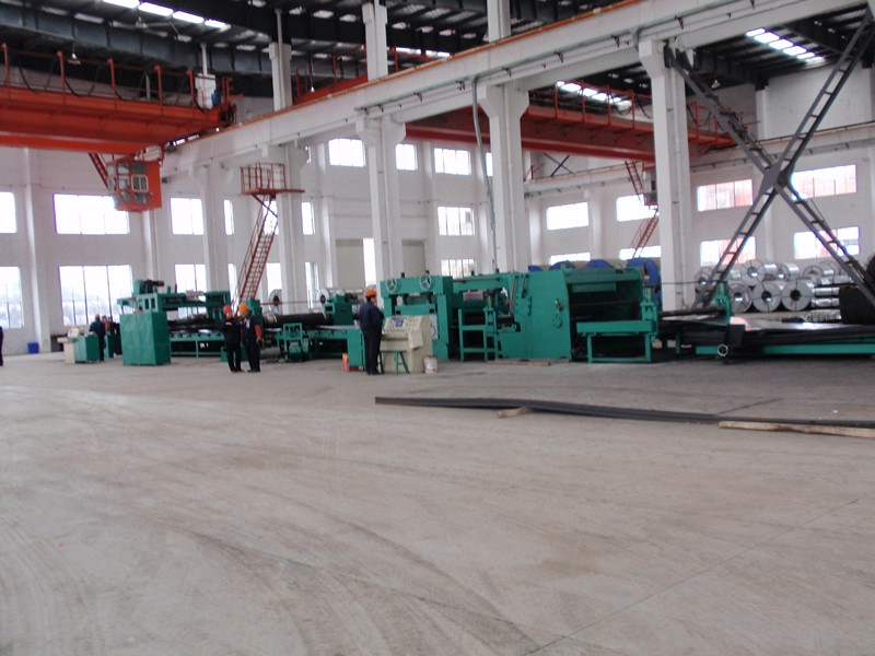 Cold Rolled Coil Cut to Length Line
