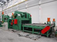 Cut To Length Line For Steel Sheet