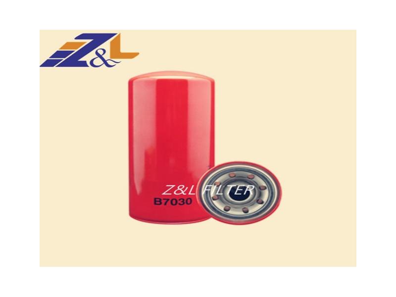 Baldwin full flow B7030/Fleetguard LF3883/25171955/1819452-C1 lube oil filter for truck diesel engin