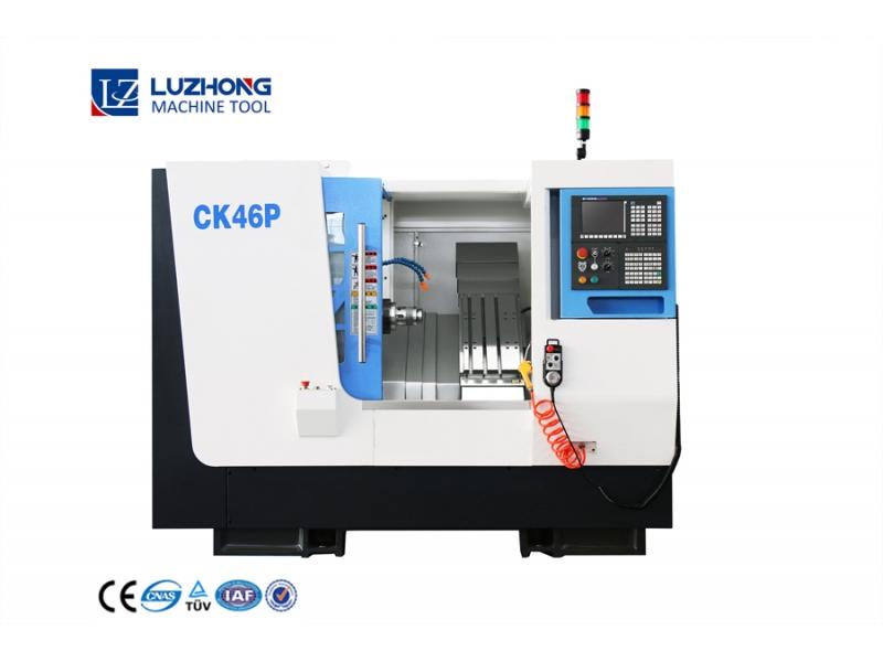 Cnc Lathe Machine Fanuc CK46P Mini Cnc Lathe For Metal