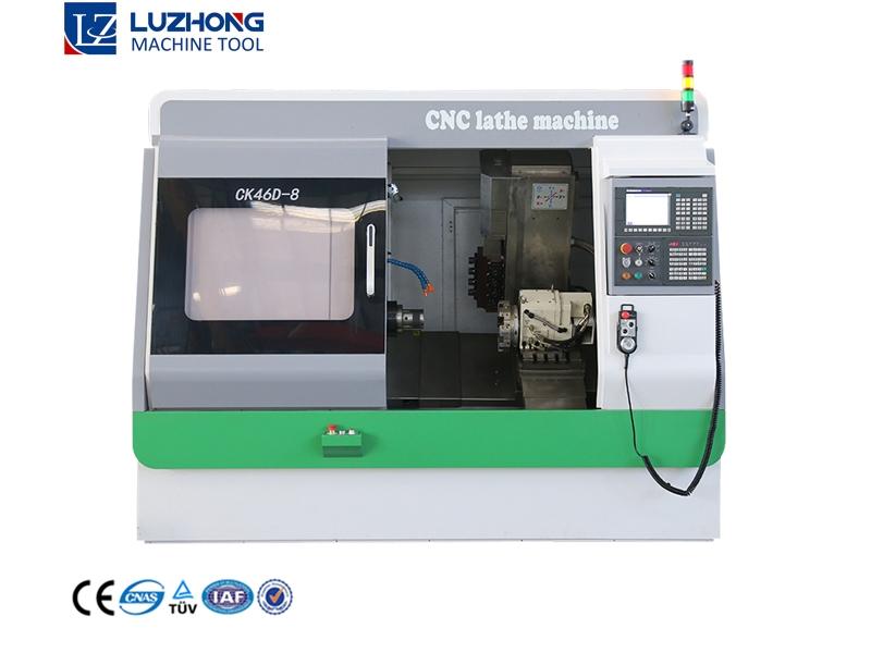 CK46D-8 Cnc Lathe Machine For Wheel