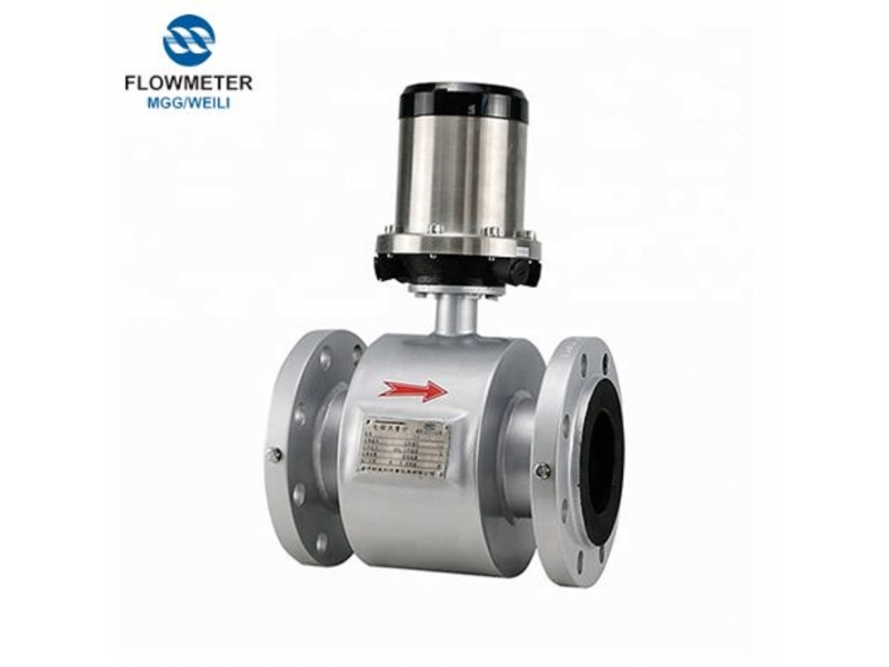 3.6V Lithium Battery Powered Rs485 Electromagnetic Flowmeter