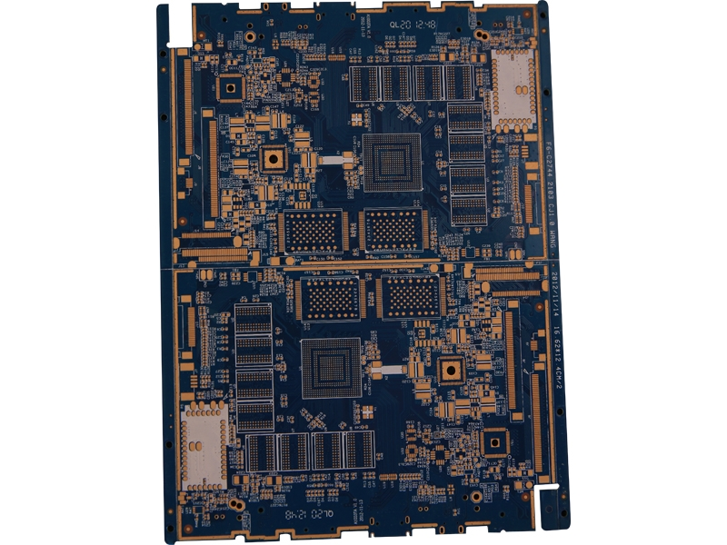4 layer 0.25mm thickness black oil resistance PCB