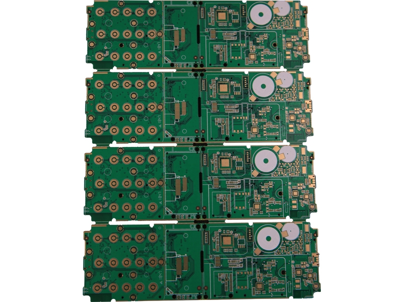 Gold OSP 6 layers mobile phone circuit board