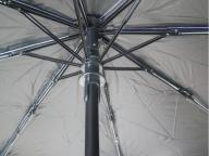 Auto open LED umbrella