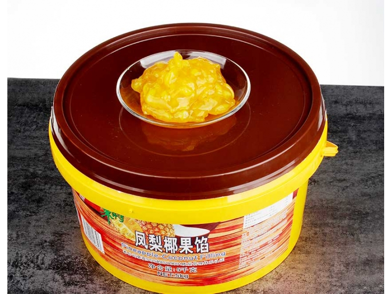Pineapple-Coconut Filling(Granule) 5kg