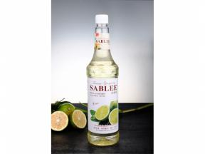 French Flavor Syrup ( Lime Flavor ) 900ml Lent Fascinating Flavor To Your Beverage