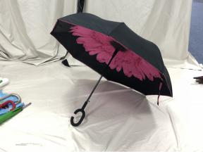 manual open  reverse umbrella