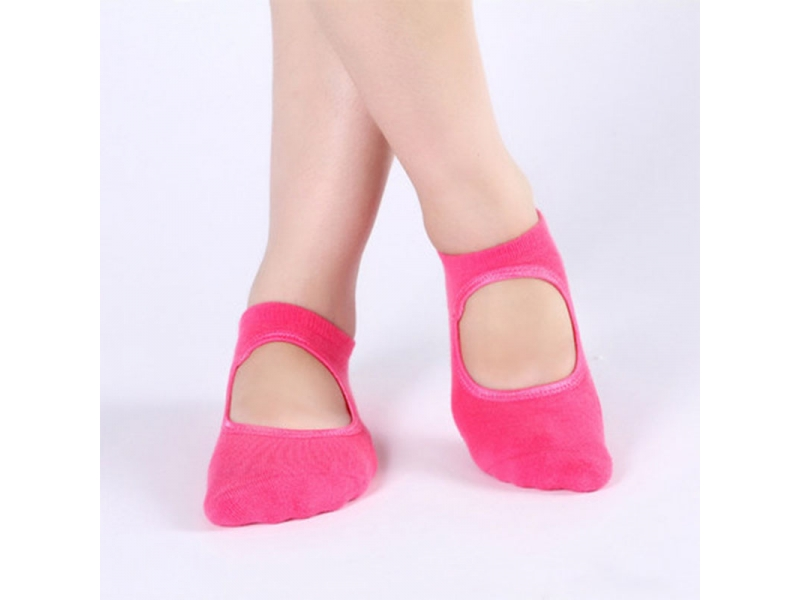 YHAO 2019 Anti-Slip Colorful Soft Socks Backless Toeless Womens Socks