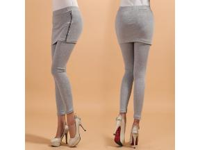 grey culottes leggings