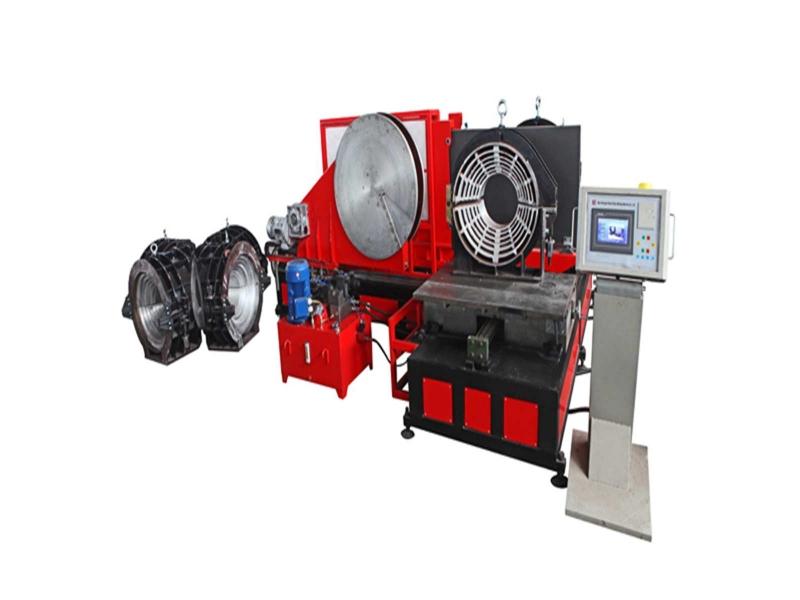 ljdg800/450 plastic pipes fitting welding machine
