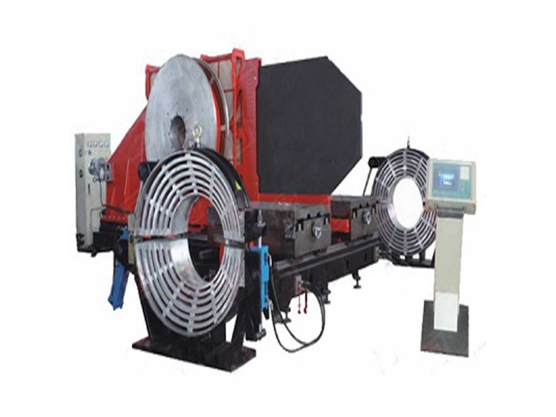 ljdg1000 pe pipe workshop fitting welding machine to weld elbow tee and cross fitting