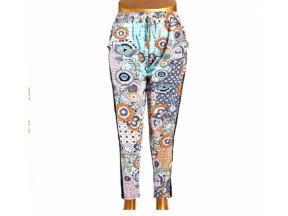 ethnic style chiffon pants