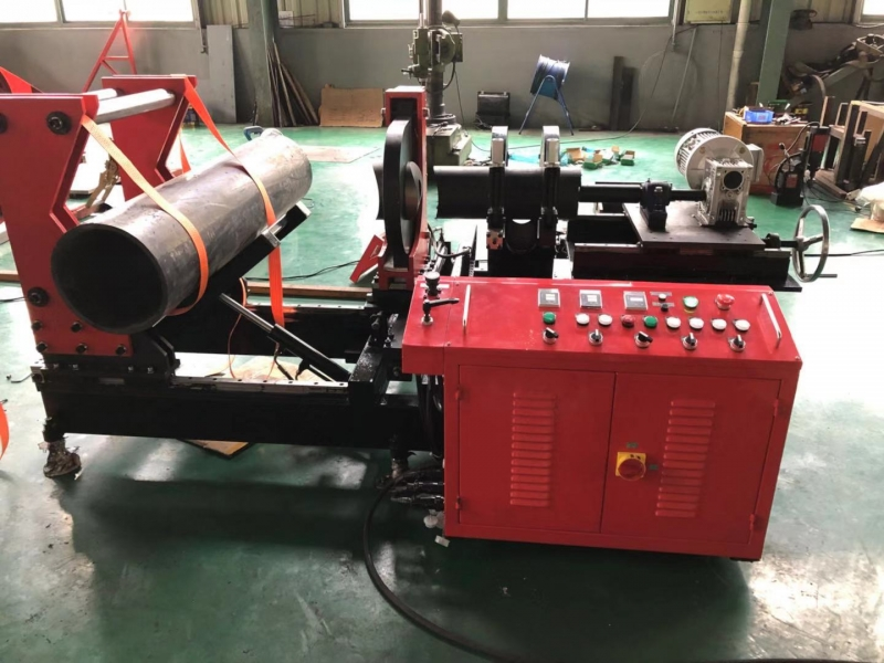 630mm saddle fitting fusion welding machine