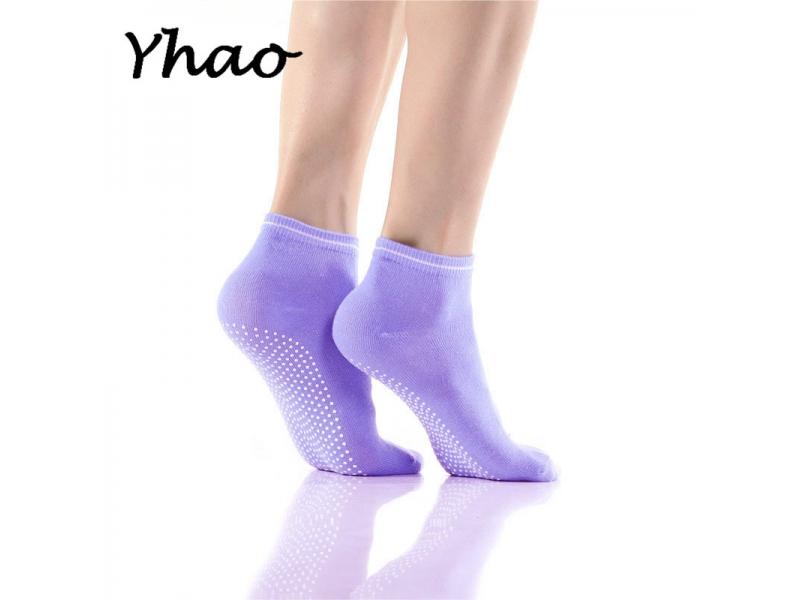 YHAO 2019 Women's High Quality Yoga Socks Non-slip Ventilation Perspiration Pilates Socks