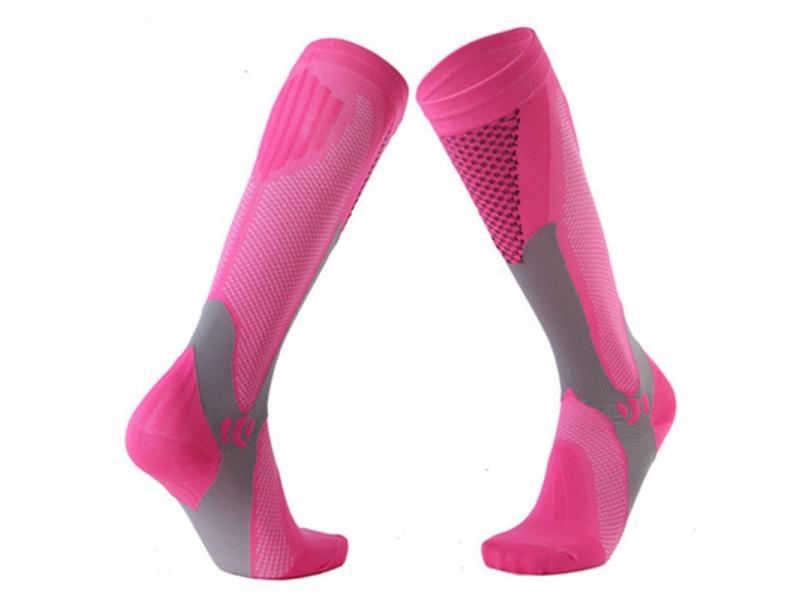 YHAO 2019 Men & Women Long Tube Marathon Socks Outdoor Sports Compression Socks Running Pressure